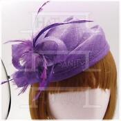 Purple Wedding Hats