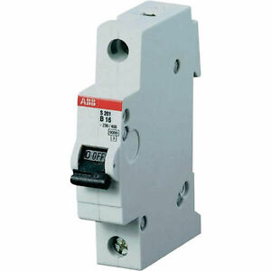 ABB S201-B16 Sicherungsautomat 1 pol. Charakteristik B 16A günstig kaufen