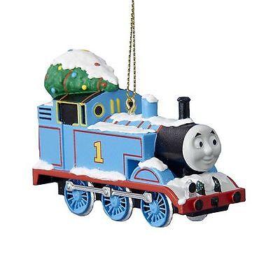 THOMAS THE TANK & FRIENDS-SNOW CHRISTMAS HOLIDAY ORNAMENT TRAIN TRACKS **NEW**