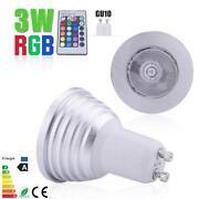 RGB LED E27 3W