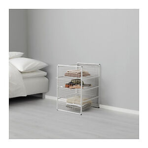 Frame and wire baskets, white Windsor Region Ontario image 1