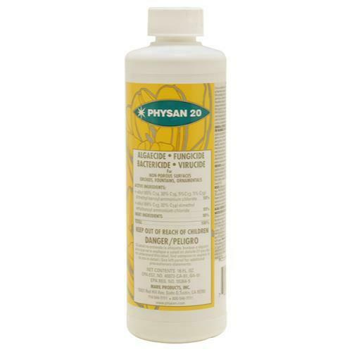 Physan 20 16 oz - ounce fungicide algaecide bactericide concentrate lawn grass