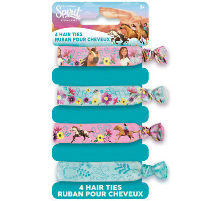 SPIRIT Riding Free HAIR TIES (4) ~ Birthday Party Supplies Accessories Favors