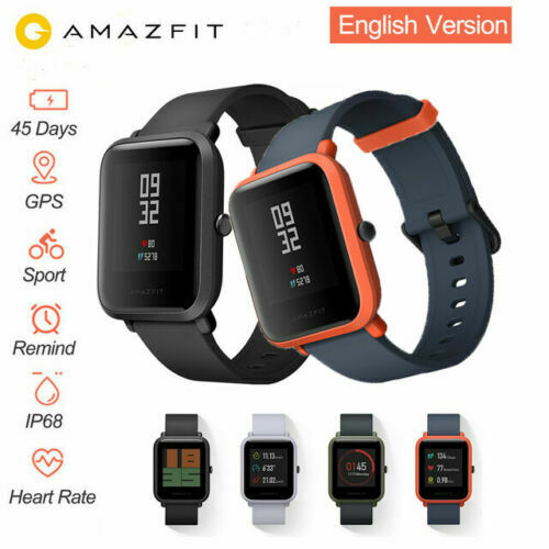 Original XIAOMI Huami Amazfit Bip GPS IP68 Smart Watch Sport