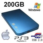 200GB External Hard Drive