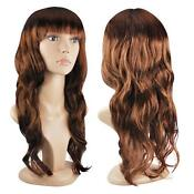 Curly Brown Fancy Dress Wig