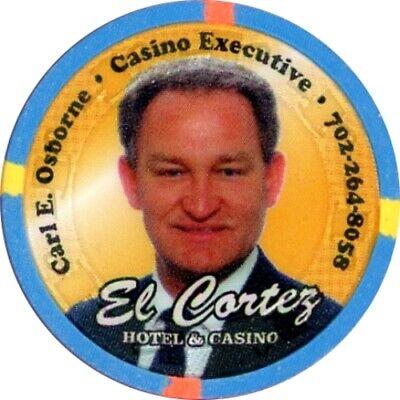 EL CORTEZ CARL OSBORNE ND CASINO CHIP LAS VEGAS NEVADA