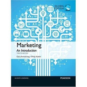 marketing an introduction tenth edition global edition gary armstrong philip kotler