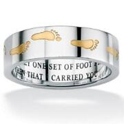 Footprints in The Sand Ring
