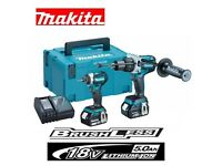 Marital brushless set DLX2176TJ twin set x2. 5app batteries and charger