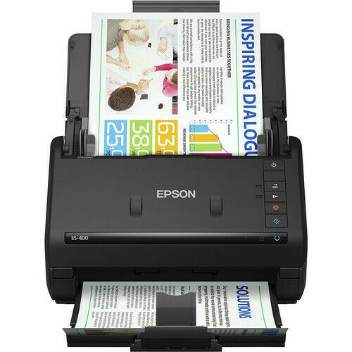 Epson B11B226201-RB WorkForce ES-400 Duplex Document Scanner  Refurbished