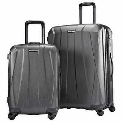 Samsonite Bantam XLT 2-piece Hardside Set, GRAY/CHARCOAL, NIOP