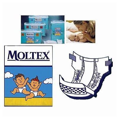 Moltex Pannolini per bambini Hygienic Pants Prematuri [1-3 Kg] 56 pezzi