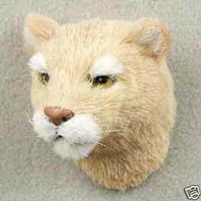 ONE COUGAR FURLIKE ANIMAL COLLECTABLE MAGNET. PROMOTE YOUR SPORT TEAM!
