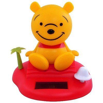 Winnie the Pooh Solar Bobblehead Figurine Nodder