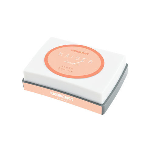 Kaisercraft Dye Based ink Pad KaiserInk 23 color selection Non toxic - Blush