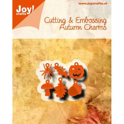 Joy!Crafts Stanzschablone Spinne Fledermaus Kürbis Pilz Halloween 6002/0780 ()