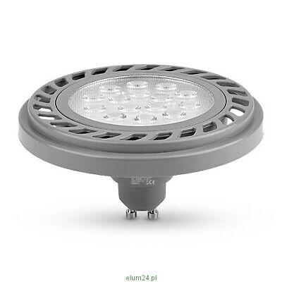 ES111 LED Spot silber 2700K warmweiß Strahler Leuchte GU10 Reflektor Lampe 11W
