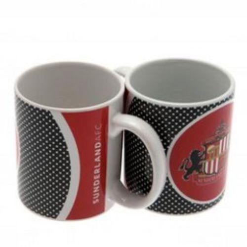 Sunderland FC Crest Mug - Latest Bullseye Design