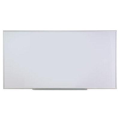 Dry Erase Board Melamine 96 X 48 Satin-finished Aluminum Frame Unv43627