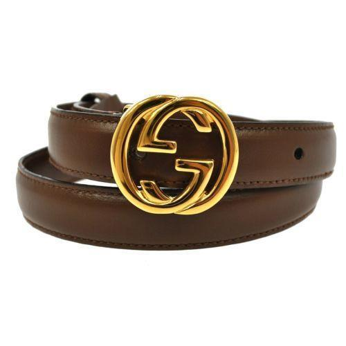 Black Belt With Dark Brown Shoes