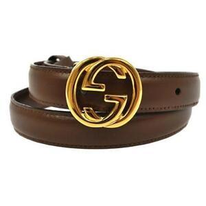 6cc63f69874 Vintage Gucci Belt