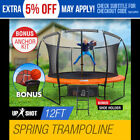 2002-Now Outdoor Play Trampolines with Padded Springs