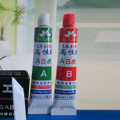 2x Super Strong Epoxy Clear Glue Adhesive Ab For Super Bond Metal Plastic Wood