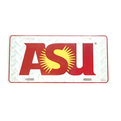 - ARIZONA STATE SUN DEVILS CAR TRUCK TAG LICENSE PLATE DIAMOND ASU UNIVERSITY