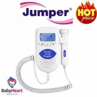 Jumper Pocket Baby Fetal Doppler baby heartbeat monitor-ARTG APP