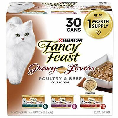 Purina Fancy Feast Gravy Wet Cat Food ...