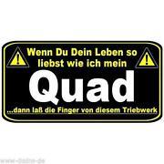 Quad Aufkleber