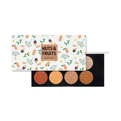 [ETUDE HOUSE] My Beauty Tool Eye Shadow Palette Nuts & Fruits (8colors) - 1pcs
