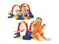 Fisher Price Baby Playzone Crawl & Slide Arcade