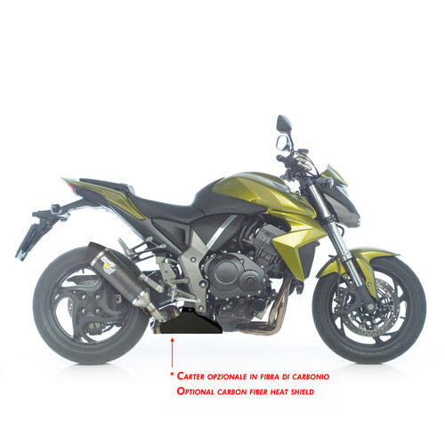 8556 MUFFLER EXHAUST LEOVINCE SBK LV ONE HONDA CB 1000 R i.e. 2008>15 CARBON -