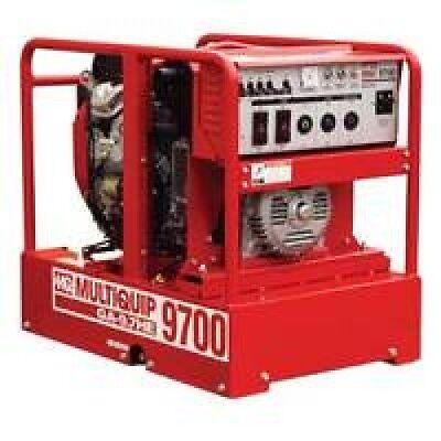 Multiquip Ga97hea Generator 9.7kw 120240v 16.6 Hp Elect.start Free Shipping