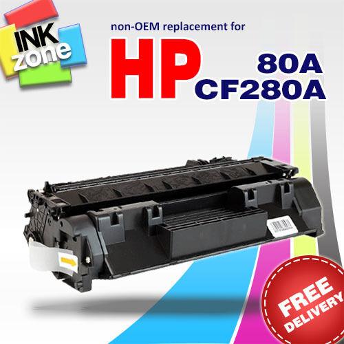 BLACK non-OEM Toner for HP LaserJet Pro 400 M401a M401d M401dn (CF280A 80A)