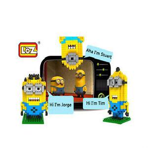 Minions Micro Diamond Block Gift Series for the movie Minions