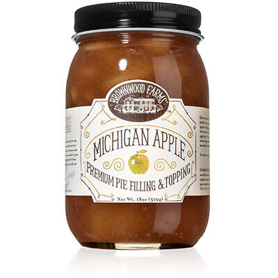 Brownwood Farms Michigan Apple Premium Pie Filling & Topping  (18 ounce)