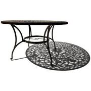 Cast Aluminum Table