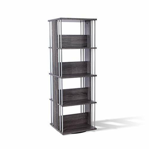 Cabinet Organizer Stand Holder 216 CD DVD Game Display Rotating Storage Shelf