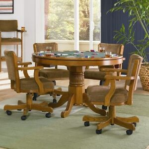 Take a look at this 5 Piece Poker/3-1 Game Table with Chairs