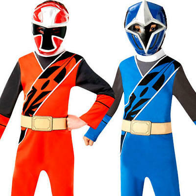 Ninja Steel Power Rangers Kids Fancy Dress Superhero TV Boys Childrens - Ninja Ranger Kostüm