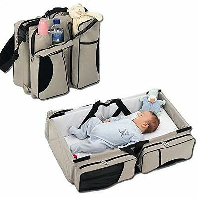 Diaper Bags - By Boxum Baby - Stylish 3 in 1 Multi-Functiona