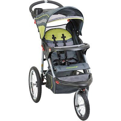 Baby Trend Expedition Swivel Jogger Baby Jogging Stroller - Carbon | JG94710