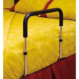 Bed rail to assist getting out of bed