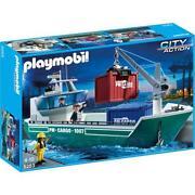 Playmobil Frachtschiff