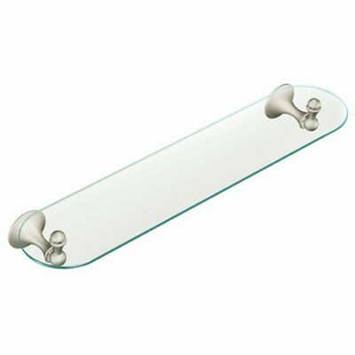 Moen DN7790BN Lounge Bathroom Vanity Shelf, Brushed Nickel