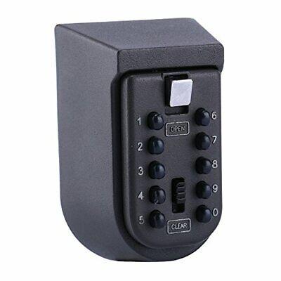 Key Storage Lock Box Waterproof Safe Box Combo Door Locker Combination Lockbo...