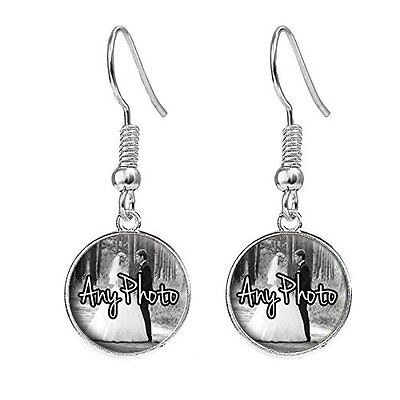 Highland Cow Silver Plated Costume Jewellery Drop Earrings Birthday Gift C106